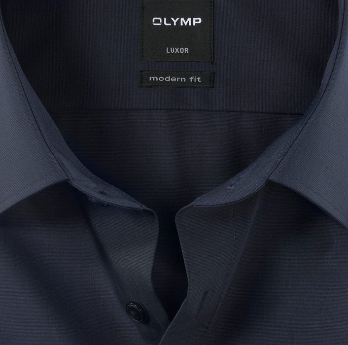 OLYMP Luxor, modern fit, Businesshemd, New Kent, Indigo