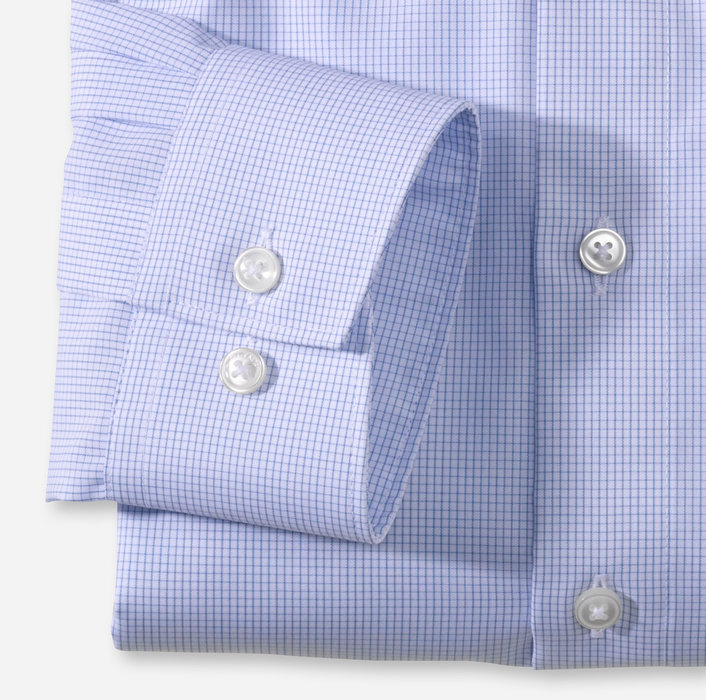 OLYMP Luxor, modern fit, Businesshemd, Button-down, Bleu