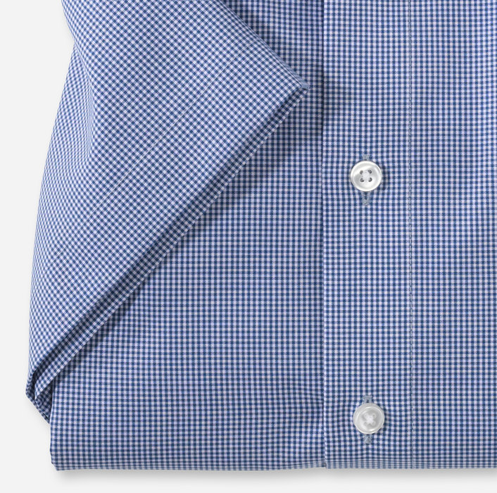 OLYMP Luxor, modern fit, Businesshemd, Button-down, Royal