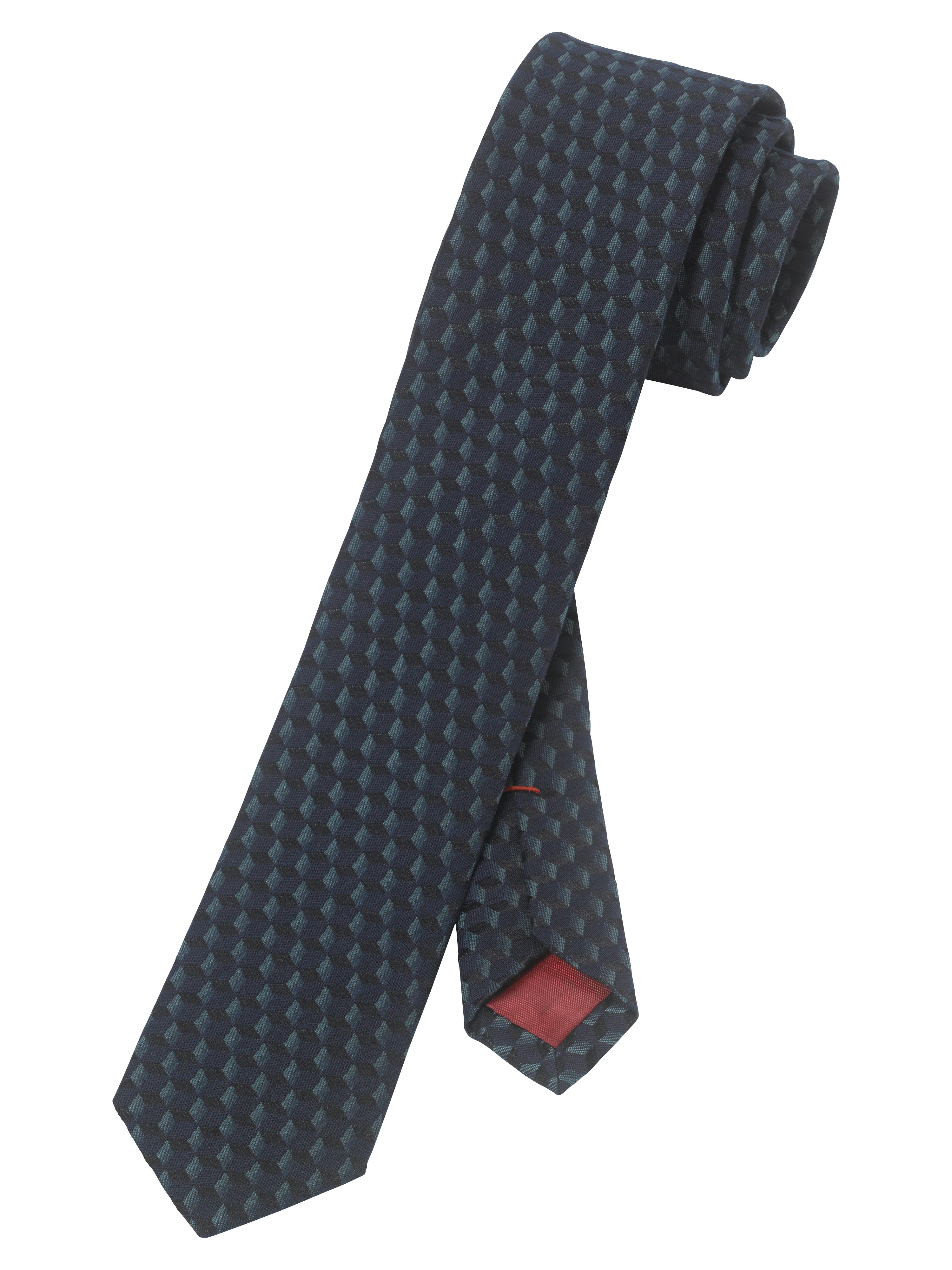 OLYMP  Krawatte, Grau-Grün,   Accessoires   OLYMP