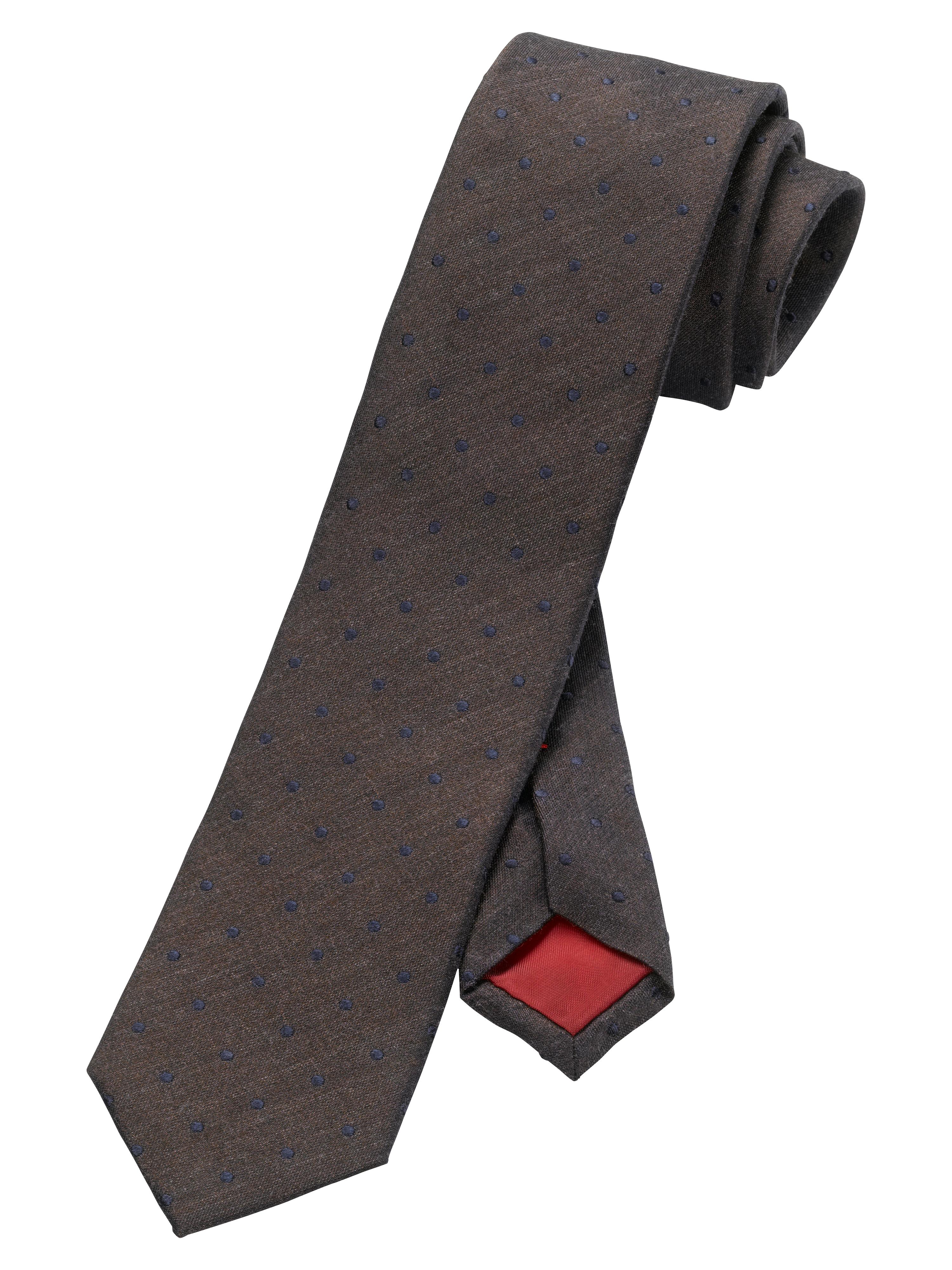 OLYMP  Krawatte, Braun, | Accessoires > Krawatten > Sonstige Krawatten | OLYMP