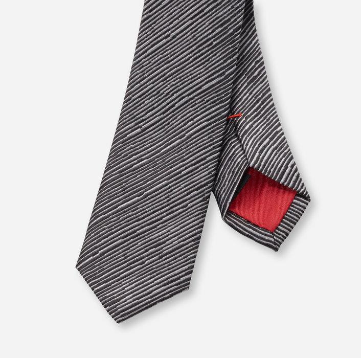 OLYMP Krawatte, super slim (5 cm)   Grau - 1711306201