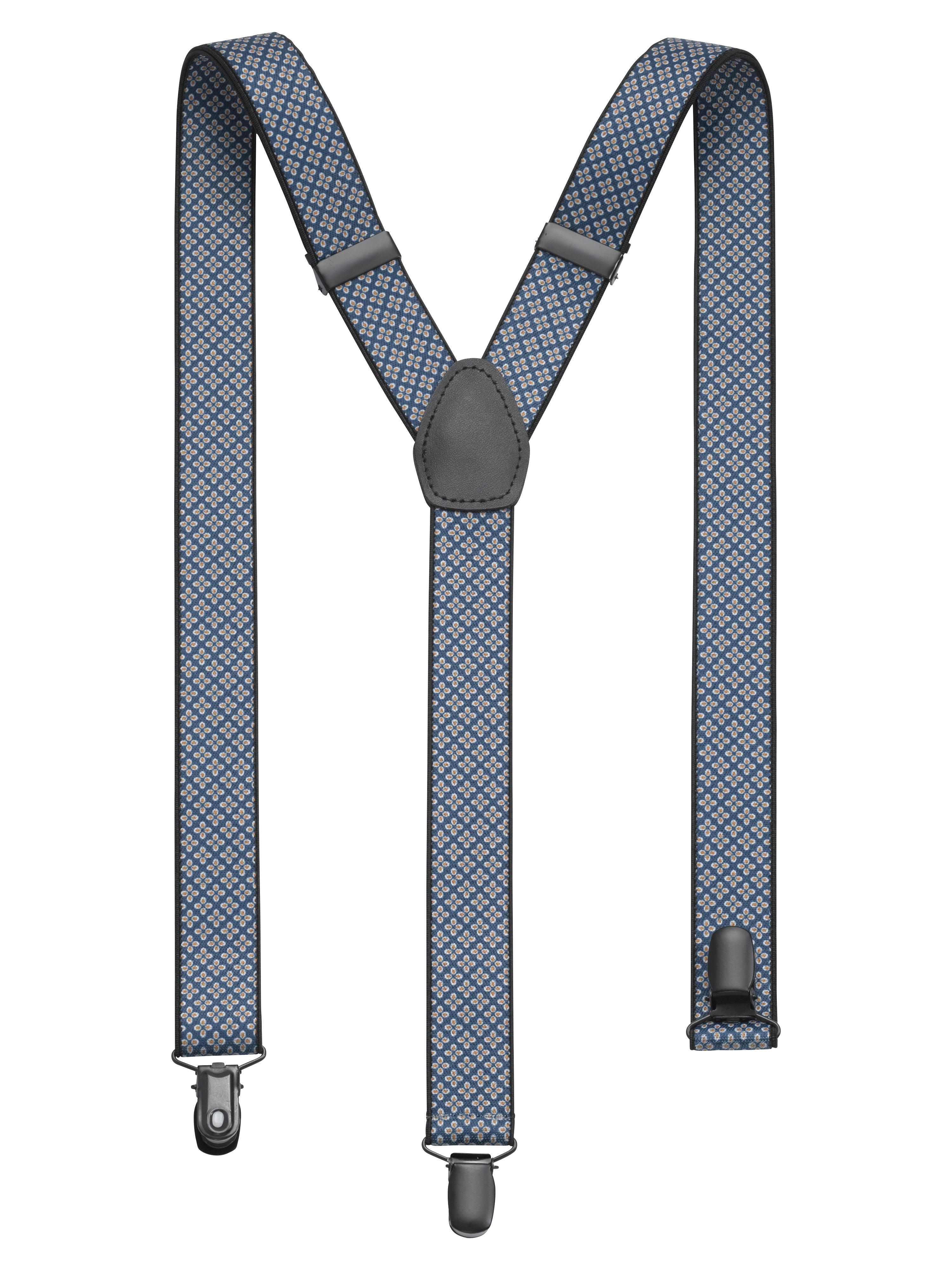 OLYMP Hosenträger, Marine, | Accessoires > Gürtel > Hosenträger | Polyester - Elastan - Leder | OLYMP