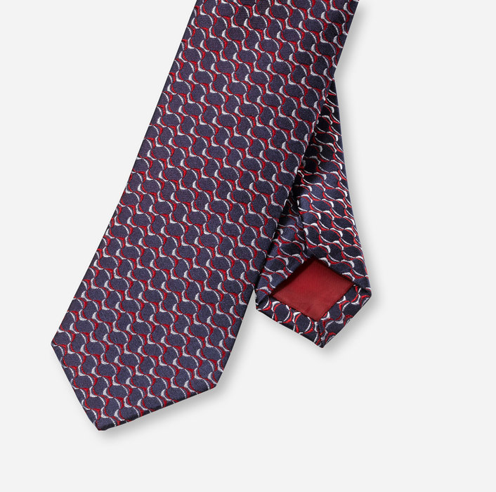 OLYMP Krawatte, slim 6 cm   Rot - 1729713501