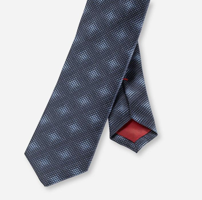 OLYMP Krawatte, super slim (5 cm)   Marine - 1732501801