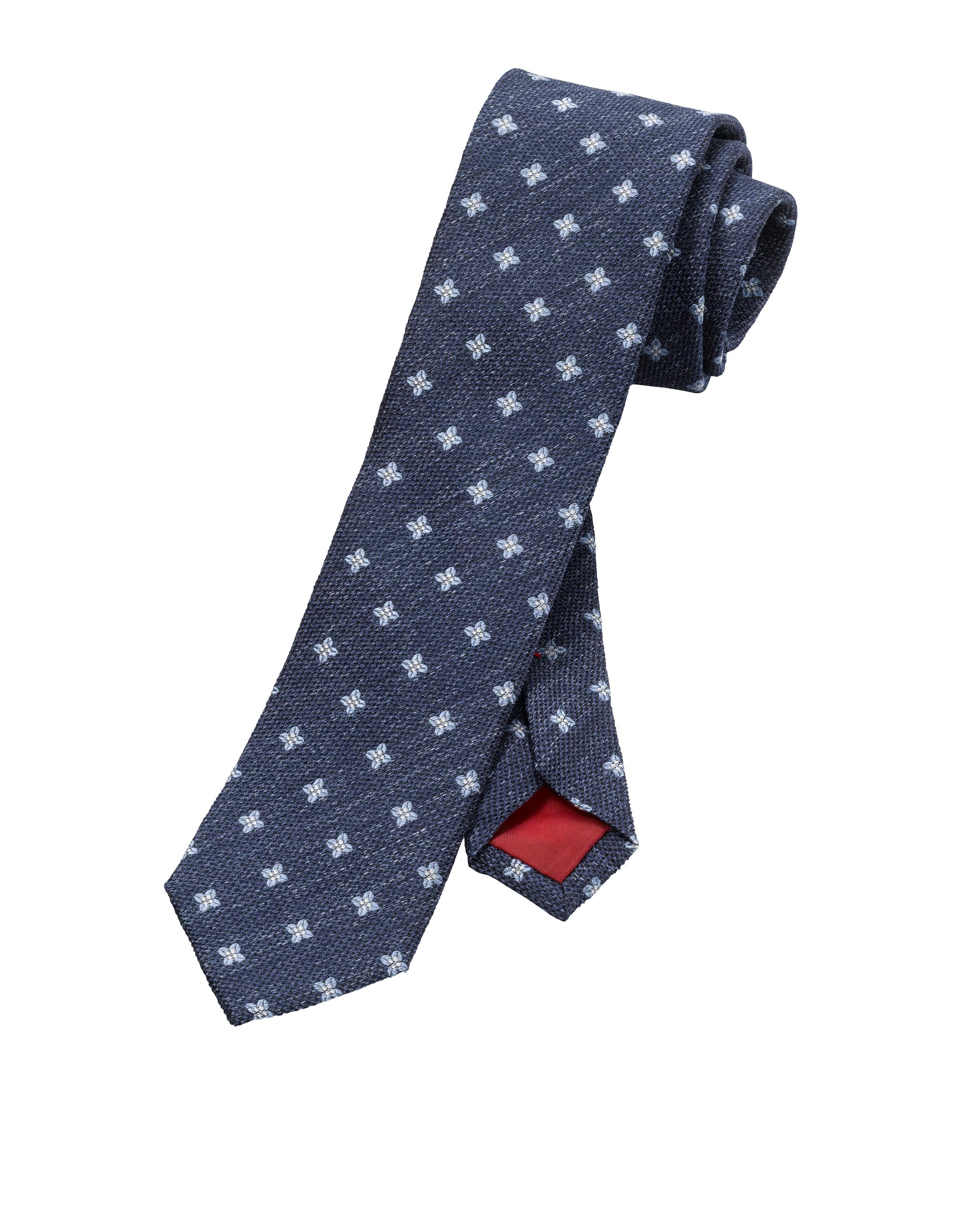 OLYMP Krawatte, Bleu, | Accessoires > Krawatten > Sonstige Krawatten | Bleu | 100% seide | OLYMP Krawatte
