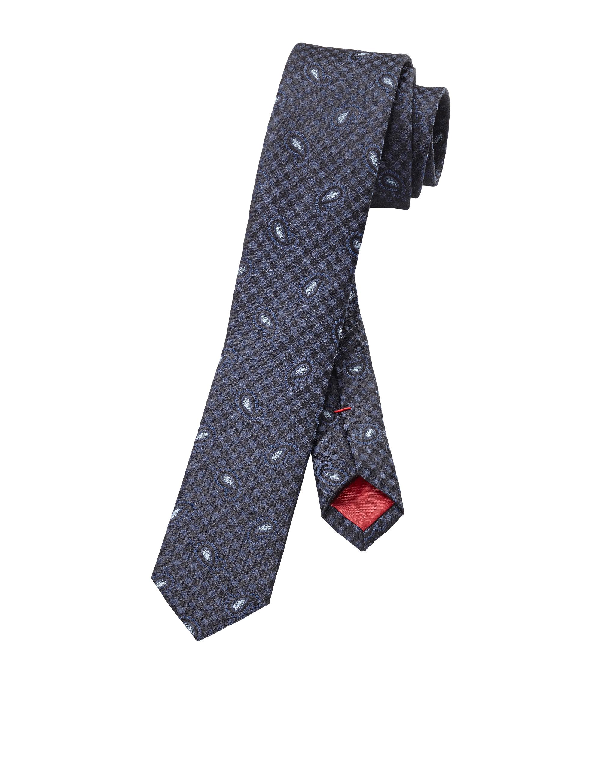 OLYMP Krawatte, Marine, | Accessoires > Krawatten > Sonstige Krawatten | Marine | 100% seide | OLYMP Krawatte