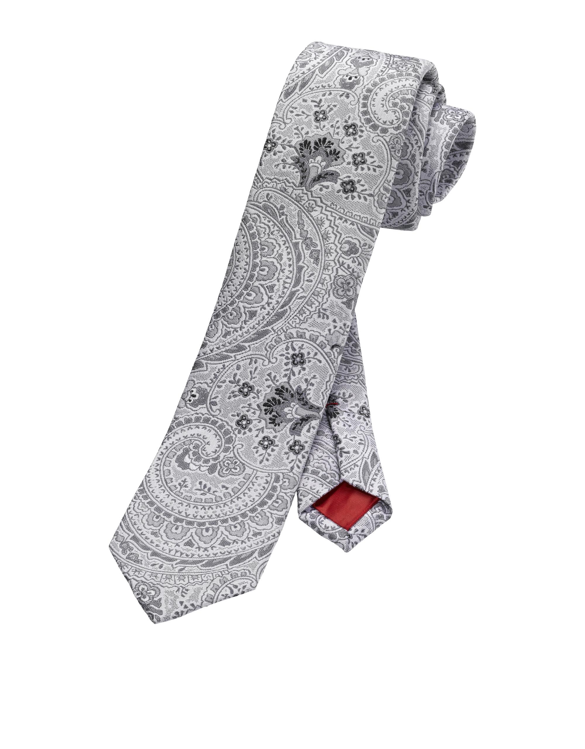 OLYMP  Krawatte, Grau,   Accessoires > Krawatten > Sonstige Krawatten   OLYMP