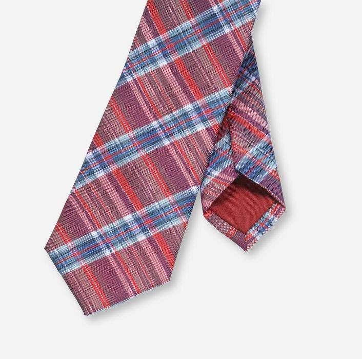 OLYMP Krawatte, slim (6 cm)   Rot - 1748513501