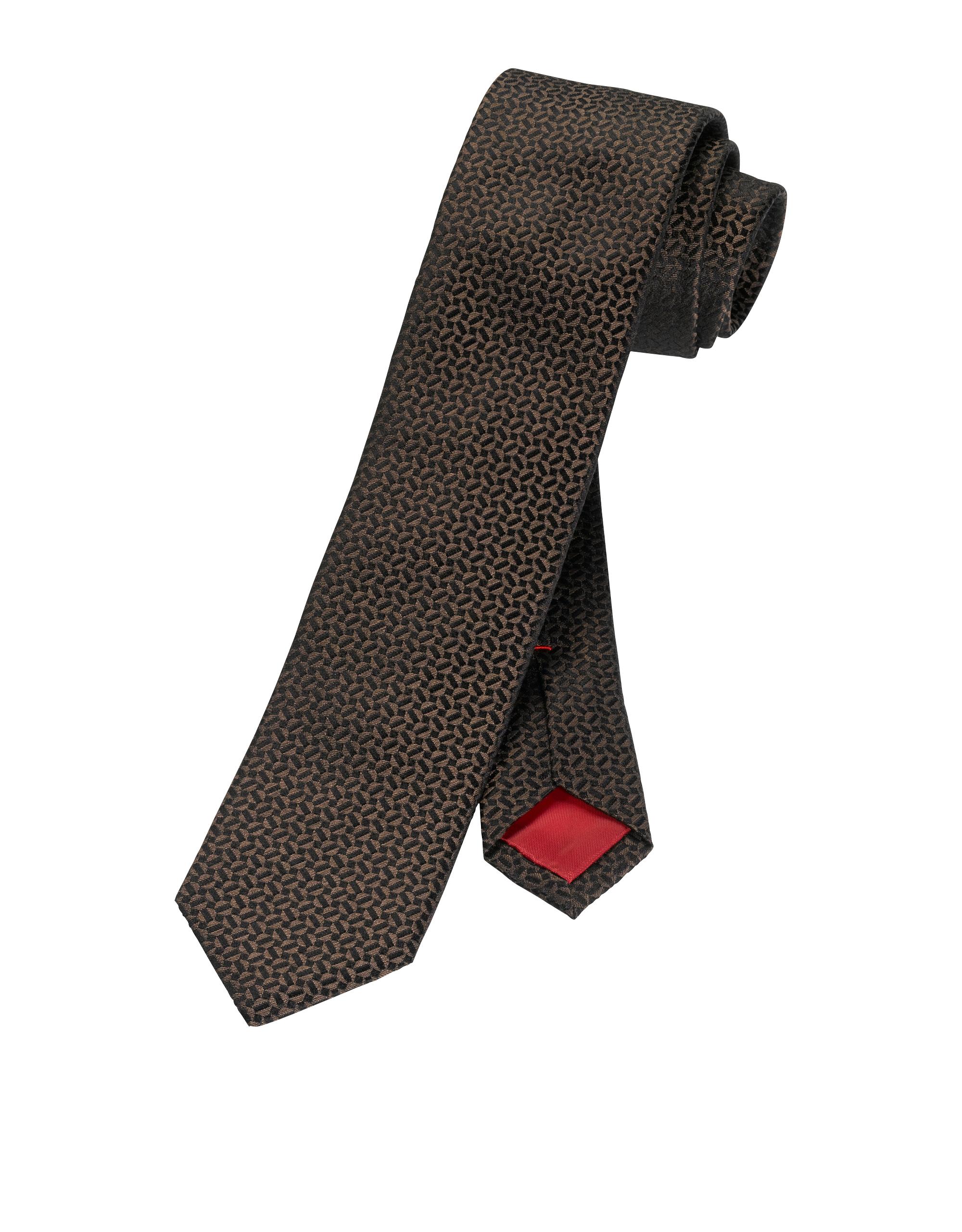OLYMP  Krawatte, Braun,   Accessoires > Krawatten > Sonstige Krawatten   OLYMP