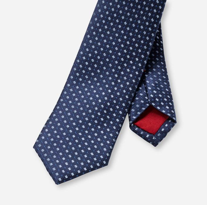OLYMP Krawatte, slim (6 cm)   Blau - 1774311501