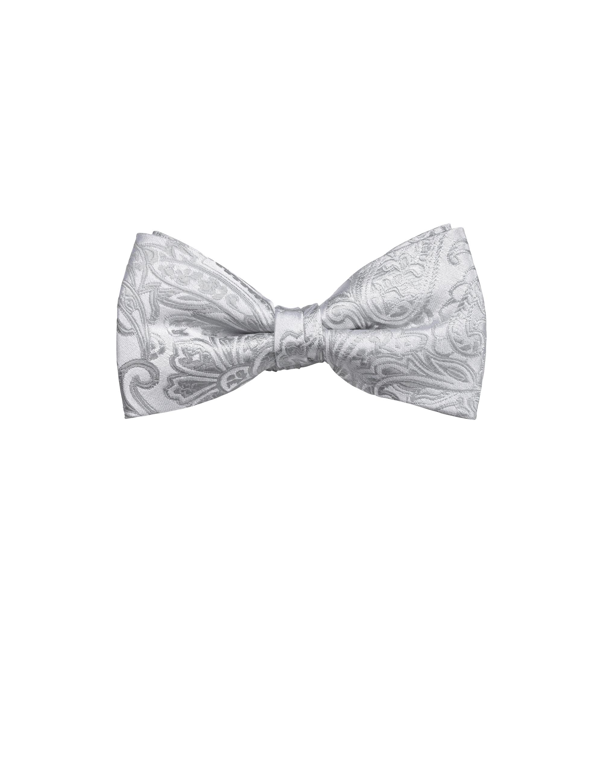 OLYMP Fliege Krawatte, Silbergrau, | Accessoires > Krawatten > Sonstige Krawatten | Silbergrau | 100% seide | OLYMP Fliege