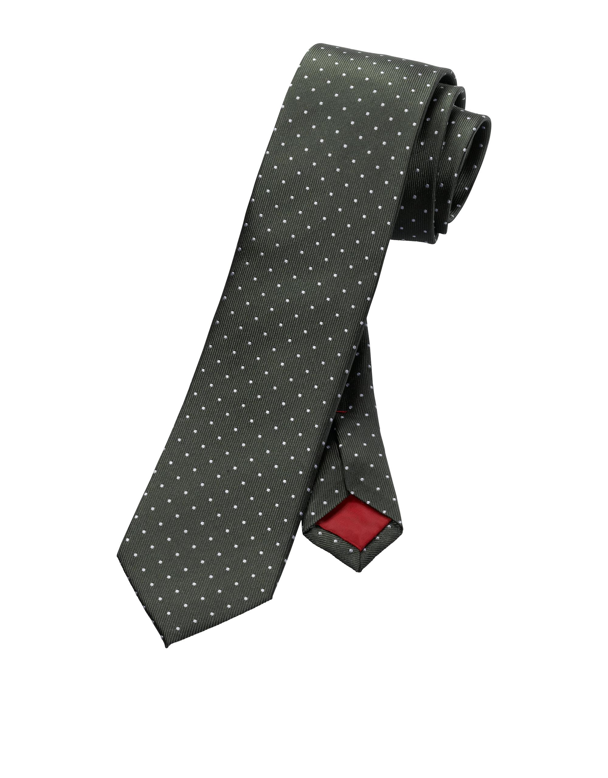 OLYMP Krawatte, Schlamm, | Accessoires | Schlamm | 100% seide | OLYMP Krawatte