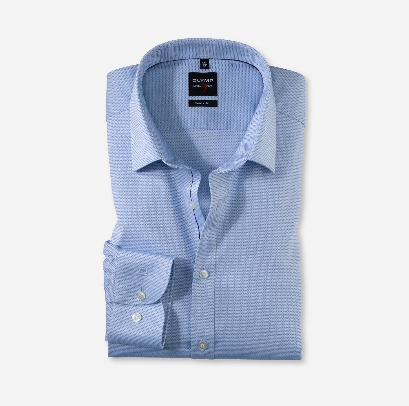 50faf732 OLYMP Level Five body fit New York Kent Bleu - 20123411