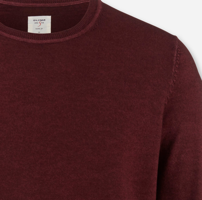 OLYMP Level Five Knitwear, body fit, Pullover crew neck, Sienna