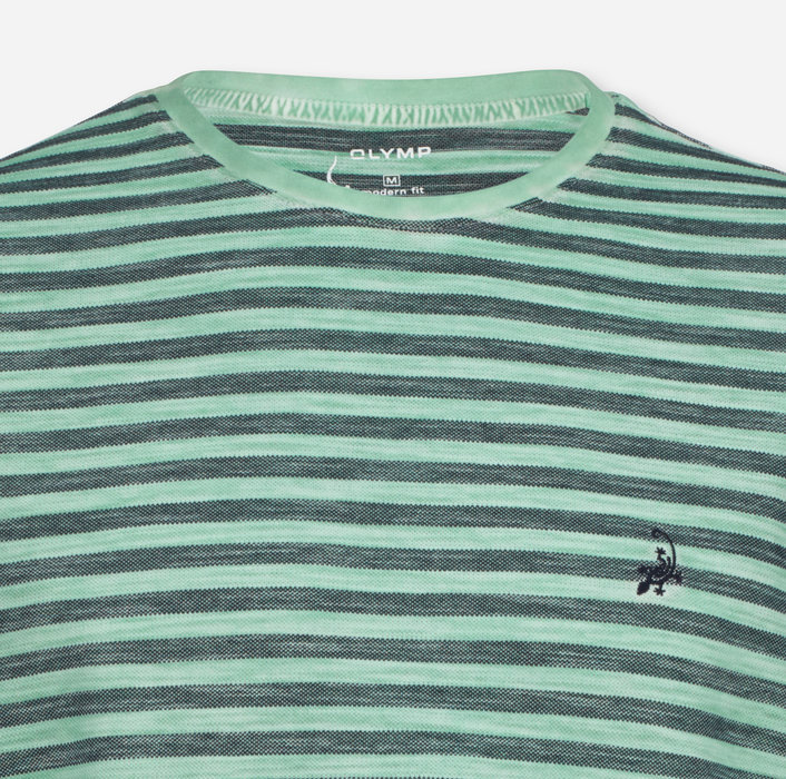 OLYMP Casual T-Shirt, modern fit, Mint