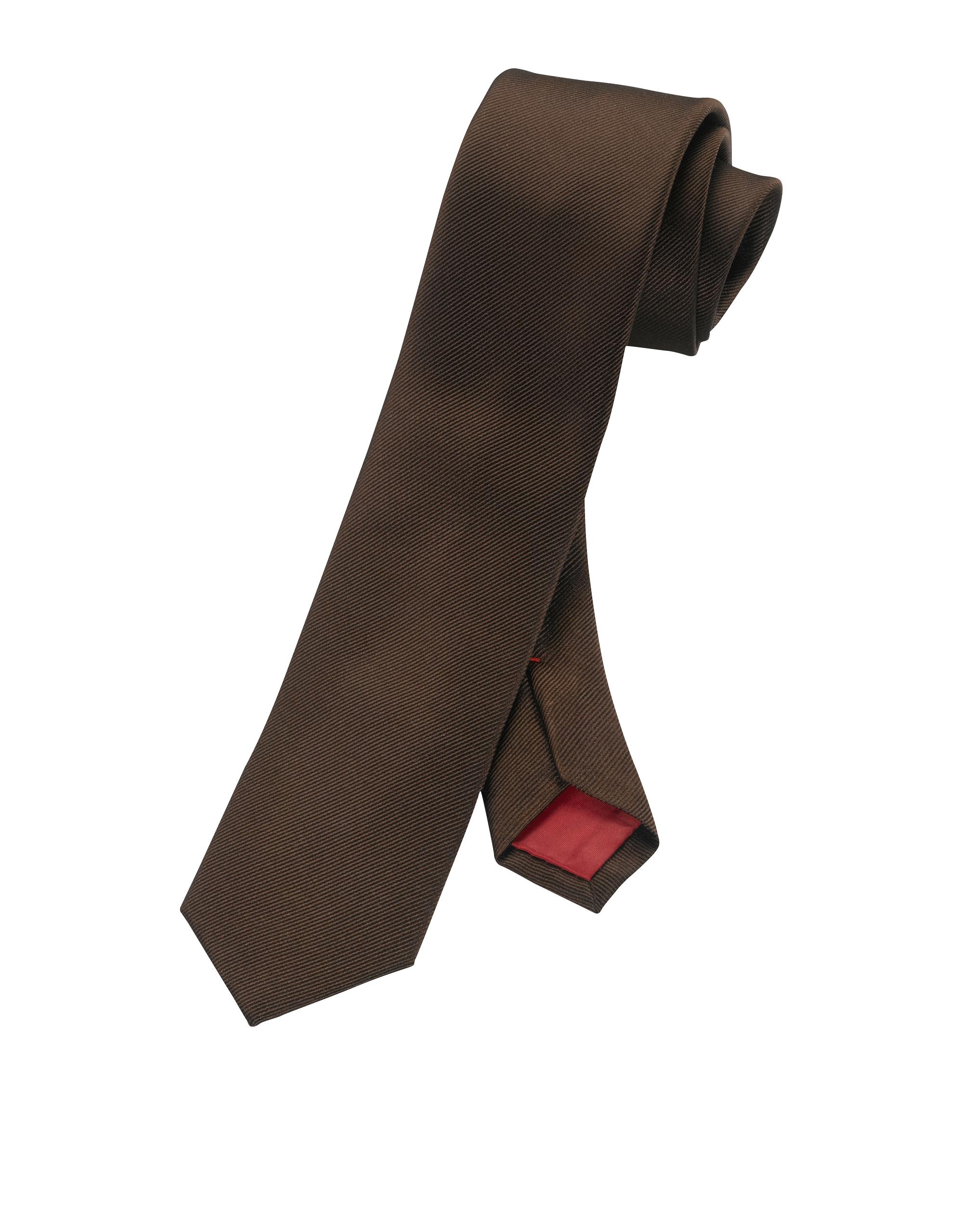 OLYMP Krawatte, Rotbraun,   Accessoires > Krawatten > Sonstige Krawatten   Rotbraun   100% seide   OLYMP Krawatte