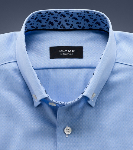 OLYMP SIGNATURE tailored fit Long sleeve SIGNATURE Button-down