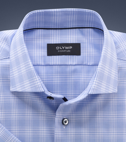 OLYMP SIGNATURE tailored fit Short-sleeved SIGNATURE Kent