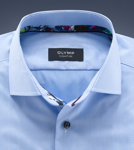 OLYMP SIGNATURE tailored fit Lange mouw SIGNATURE Kent