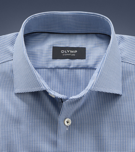 OLYMP SIGNATURE tailored fit Businesshemd Langarm