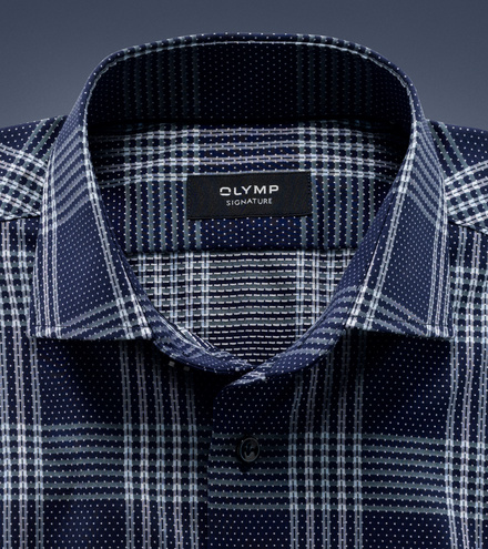 OLYMP SIGNATURE tailored fit Manche longue SIGNATURE Kent