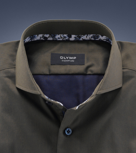 OLYMP SIGNATURE tailored fit Langarm
