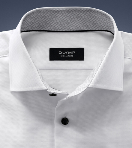 OLYMP SIGNATURE tailored fit Long sleeve SIGNATURE Kent
